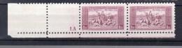 1934 Hymne National Y 290** Mi 330  **  Planche 1A + Bord De Feuille TTB - Tsjechoslowakije