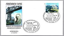 FRIEDRICH VOSS - Diseñador PUENTE TRANSBORDADOR - Transbordeur. Rendsburg 2013 - Puentes