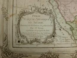 CARTE PERSE TURQUIE ASIATIQUE ET ARABIE PAR BRION DE LA TOUR 1766 - Carte Geographique