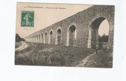 LOUVECIENNES 41 PERSPECTIVE DES AQUEDUCS (HOMME POSANT) - Louveciennes