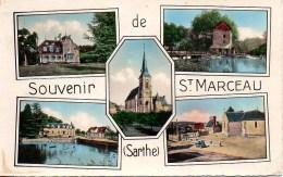 72 Souvenir De St-MARCEAU  Multivues - Sonstige Gemeinden