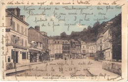 -27- PONT AUDEMER  Place De Verdun TTB  écrite - Pont Audemer