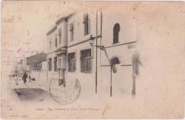 Afrique,,algérie En 1902 Authentique,blida,rue Tiriman Et L´école Arabe Française,édition Geriser,rare,afrique