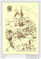 DURBUY ..-- Vue Panoramique . Eglise Saint - Nicolas . - Durbuy