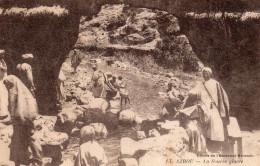 4390. CPA MAROC AZROU. LA SOURCE GLACEE - Maroc