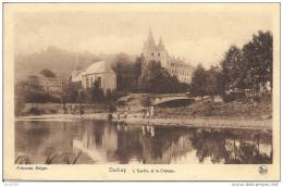 -50% . DURBUY ..-- Ourthe Et Château . Vers ANVERS ( Mr VAN HERLE ) . Voir Verso . - Durbuy