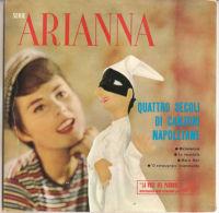 """Arianna - Quattro Secoli DI Canzoni Napoletane 1960 - VG+/VG+ 7"""" - Country & Folk"""