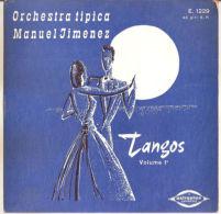 "Manuel Jimenez Orquestra – Tangos Vol. 1 - VG+/VG+ 7"" - Country & Folk"