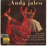 "Enrique Montoya – Anda Jaleo- NM/NM- 7"" - Country & Folk"