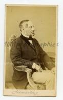CDV L. Angerer, K.K. Hof-Photograph In Wien. Portrait De Anton Ritter Von Schmerling, 1805 - 1893. - Foto's