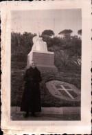 FOTOGRAFIA DI BORDIGHERA MONUMENTO A MARGHERITA DI SAVOIA - Guerra, Militari
