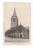 VEMARS : L'église Et La Place - Très Bon état - France