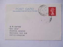 GB 1979 CARD WITH ISLE OF EIGG POSTMARK - 1952-.... (Elisabeth II.)