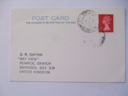 GB 1979 CARD WITH ISLE OF EIGG POSTMARK - 1952-.... (Elizabeth II)