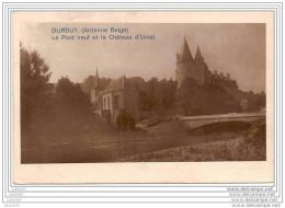 PRIX REVU ..-- DURBUY ..-- Pont Neuf Et Château D ´ URSEL . 1920 Vers BXL ( Mr Oscar COMMERCE ) . Voir Verso . - Durbuy