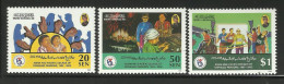 BRUNEI 1998 ASIAN & PACIFIC DECADE OF DISABLED PERSONS SET MNH - Brunei (1984-...)