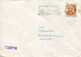 11477 Jugoslavia, Special Postmark Slogan 1956 Ljubliana, Bee  Abeille,  Biene - Abeilles