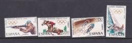 1968 Mexico Spain Olympic Set MNH - Summer 1968: Mexico City