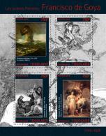 TOGO 2014 - F. De Goya, Donkey - YT 3916-9; CV = 17 €