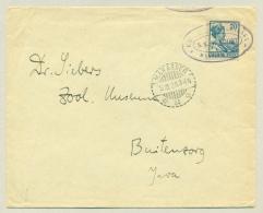 Nederlands Indië - 1928 - Scheepsbrief KPM-schip SS Van Noort Op Cover Via Makasser Naar Buitenzorg - Netherlands Indies