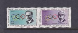1968 Mexico Turkey 1967 PreOlympic Set MNH - Summer 1968: Mexico City