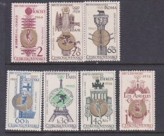 1968 Mexico, Czechoslovakia 1965 Olympic Victories MNH - Summer 1968: Mexico City