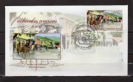 """POLYNESIE FRANCAISE 2011 : Enveloppe 1er Jour """" VEHICULES ANCIENS (1900) / PAPEETE Le 17-05-2011 """". TB état. FDC - Cars"""