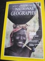 NATIONAL GEOGRAPHIC Vol. 161, N°3, Mars 1982 : Peru - Santa Fe - Sudan - Henry Hudson  (en Langue Anglaise - Sans La Car - Géographie
