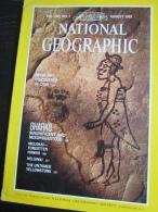 NATIONAL GEOGRAPHIC Vol. 160, N°2, 1981 : Maya Art - Sharks - Molokai - Helsinki (en Kangue Anglaise - Bon état Intérieu - Géographie