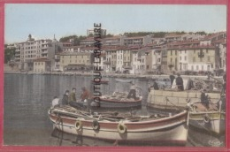 13 - CASSIS--Le Port--cpsm Pf - Cassis