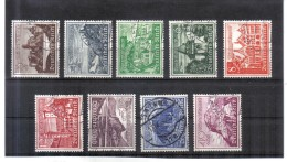 XAX212  DEUTSCHES REICH 1939  MICHL 730/38 Used / Gestempelt Siehe ABBILDUNG - Deutschland