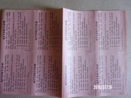 Feuille Vignettes Réacheminement Code Postal - Errors & Oddities