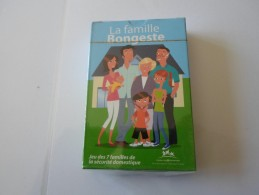 JEU DE 7 FAMILLES BONGESTE  DE LA SECURITE DOMESTIQUE   ****  RARE  A   SAISIR   ***** - Speelkaarten