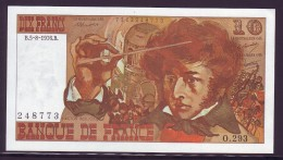 10 FRANCS BERLIOZ - 5/8/1976 - NEUF - 1962-1997 ''Francs''