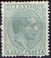 SPAIN  #CUBA  FROM 1880   STANLEY GIBBONS 85** - Cuba (1874-1898)