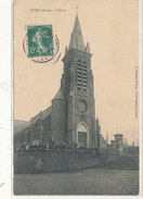 JUSSY  L'Eglise Animée - France