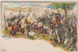 Cpa,allemagne,deutsches Reich,bataille De Worth Le 6 Aout 1870,froeschwiller-woerth ,charge Des Cuirassiers Français,rar - Woerth