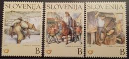 Slovenia, 2002, Mi: 386/88 (MNH) - Eslovenia