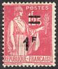 France Type Paix N°  483 ** Surchargé 1F Sur 1f25 Rose - 1932-39 Paix