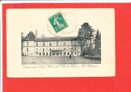 60 LIANCOURT Cpa Ecole Ile De France Le Chateau Edit Evrard - Liancourt