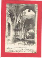 LE PUY 1905 INTERIEUR DE LA CATHEDRALE CARTE EN BON ETAT - Le Puy En Velay
