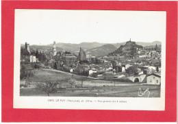 LE PUY VUE DES 3 ROCHERS CARTE EN TRES BON ETAT - Le Puy En Velay