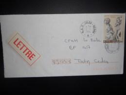 France , Lettre De Bap Jules Verne 2004 Pour Toulon - Postmark Collection (Covers)