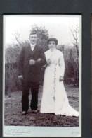 PHOTOGRAPHE A. CHAUVET, GIEN, FORMAT 10,5 X 16 Cm, PHOTO DE MARIES - Anonieme Personen