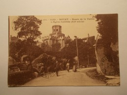 Carte Postale - ROYAT (63) - Route De La Vallée - Eglise Fortifiée (133A) - Royat