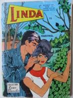 BD - 048 - Linda - Bimestriel N° 15 - Collection Roses Blanches - 1972 - Arédit & Artima