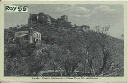 Campania-benevento-airola Veduta Castello Medioevale Chiesa Maria S.addolorata Anni 30/40 - Italia