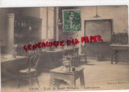 69 - LYON - AVENUE BERTHELOT  ECOLE DE SANTE MILITAIRE- LABORATOIRE - Altri