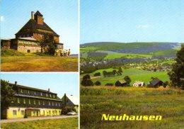 Neuhausen - Mehrbildkarte 1 - Neuhausen (Erzgeb.)