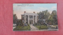 Residence Of D A G Ouzts Attorney  South Carolina> Greenwood = Ref  2285 - Greenwood
